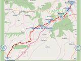 Camino Frances Map Camino assist Pilgrim Santiago Im App Store