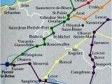 Camino Frances Map Las Rutas Del Camino En Los Pirineos Caminodesantiago El Camino