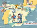 Camino Frances Route Map Spain S Camino De Santiago How Long the Trip Takes