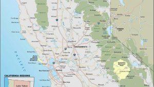 Camping California Coast Map Detailed Map California Awesome Map Od California Our Worldmaps