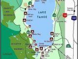 Camping In California Map Lake Tahoe Camping Map Campinglocation Camping Supplies Lake