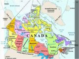 Canada Lakes and Rivers Map Plan Your Trip with these 20 Maps Of Canada