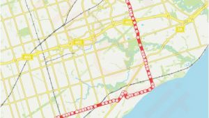 Canada Line Skytrain Map 116 Route Time Schedules Stops Maps Eglinton Ave East at