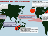 Canada Map Oceans Ocean Heatwaves are Getting Longer and More Intense Science
