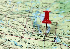 Canada Map Population Best City to Live In Manitoba Canada Worldatlas Com