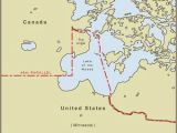 Canada Minnesota Border Map Minnesota S northwest Angle is Only Accessible by Land if You