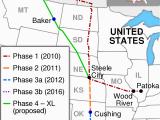 Canada Oil Sands Map Keystone Pipeline Wikipedia