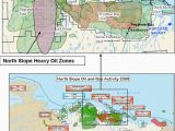 Canada Oil Sands Map Map Of north Slope Oil and Gas Fields Showing Location Of