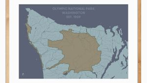 Canada Olympic Park Map Olympic National Park Map