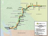 Canada Us Pipeline Map Pipelines Transportation Jwn Energy