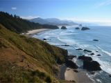 Cannon Beach oregon Map Cannon Beach Taken From Ecola Point On oregon S northern Coast
