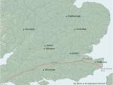 Canterbury On Map Of England Harrow Way Wikipedia