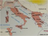 Capua Italy Map This Map at Domus Romana Shows why Ceaser Chose Luca to Meet with