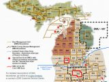 Caro Michigan Map Dnr Dmu Management Info