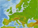 Carpathian Mountains Map Europe Physical Map Europe Climatejourney org