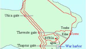 Carthage Italy Map Carthage Wikipedia