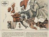 Cartoon Map Of Europe Cartoon Map Of Europe In 1914 A Map Globe Map