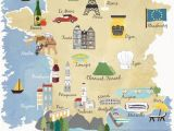 Cartoon Map Of France Tanja Mertens Tanjamertens96 On Pinterest