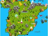 Cartoon Map Of Spain 48 Best Map Of Spain Images In 2019 Map Of Spain Spain Map