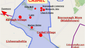Cashel Ireland Map Cashel