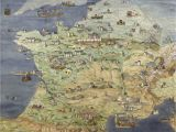 Castles Of France Map France Jean Claude Golvin Castle Study In 2019 France
