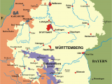 Castles Of France Map Map Of Wurttemberg and Baden From 1810 1945 Places and