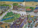 Cedar Point Ohio Map Cedar Point Map Late 1960 S Cedar Point Memories In 2019 Cedar