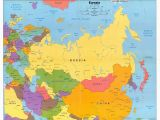 Central Europe and northern Eurasia Map 48 Graphic Nothern asia