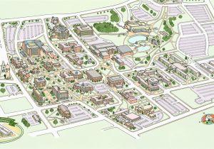 Central Michigan Campus Map Campus Maps