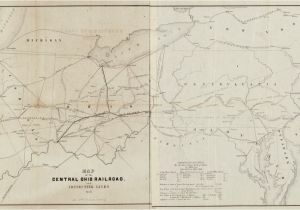 Central Of Georgia Railroad Map Railroad Maps 1828 to 1900 Library Of Congress