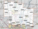 Central Ohio Zip Code Map Charlotte Zip Code Map Luxury New Jersey area Codes Map List and