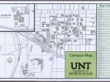 Central Texas College Map University Of north Texas Campus Map 2014 15 Side 1 Of 2