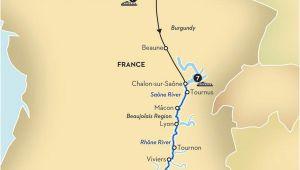 Chalon France Map Paris Rivers Ra Os Paris River Cruise Seine River Cruise France
