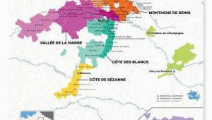 Champagne District France Map France Champagne Wine Map In 2019 From Our Official Store Wine