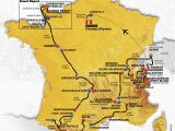 Chantilly France Map tour De France 2016 Die Strecke