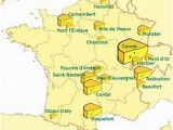Cheese Map France List Of French Cheeses Revolvy