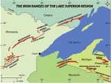 Chesterfield Michigan Map Gogebic Range Wikipedia
