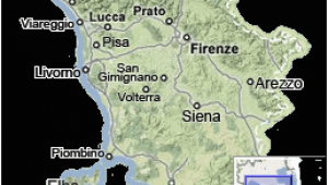 Cities In Tuscany Italy Map Tuscany Map Map Of Tuscany Italy