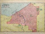 City Map Of Cleveland Ohio Prints Old Rare Cleveland Ohio Antique Maps Prints
