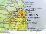 City Map Of Dublin Ireland Geographic Map Of European Country Ireland with Dublin Capital City