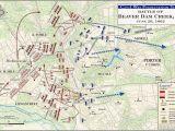 Civil War Battles In Georgia Map Battle Of Mechanicsville Virginia Civil War Battlefield Map