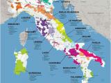 Civita Italy Map Vinos Italia Wine Italienischer Wein Weinkarte Wein