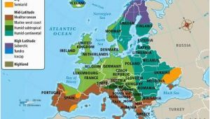 Climate Map Of England Europe S Climate Maps and Landscapes Map Netherlands
