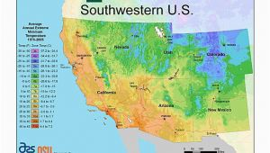 Climate Zone Map California Plant Hardiness Zone Map Provided by Usda Image