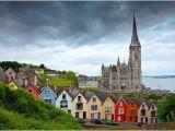 Cobh Ireland Map Ireland Beautiful Churches Around the World Cork Ireland