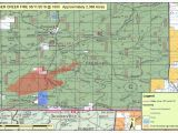 Colorado and Wyoming Map Wildfire In southern Wyoming Grows Still Not Contained Wyoming