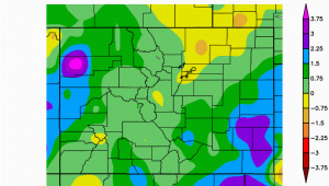 Colorado Average Temperature Map October Climate Review and November Preview