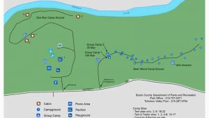 Colorado Camping Map tohickon