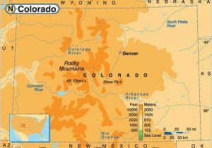 Colorado Casino Map Rocky Mountain Elevation Map 29 Cool Colorado Springs Elevation Map