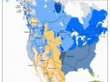 Colorado Climate Zone Map north America Climate Regions Map Us and Canada Map Geography